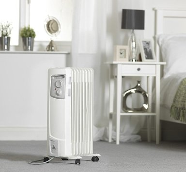 Dimplex OFC2000 Portable Oil Filled Column Electric Radiator 2000W