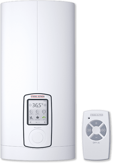 stiebel eltron dhe three phase touch 18 21 24 set instantaneous water heater heater shop. Black Bedroom Furniture Sets. Home Design Ideas