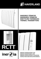 Haverland RCTTi Radiator Instruction Guide